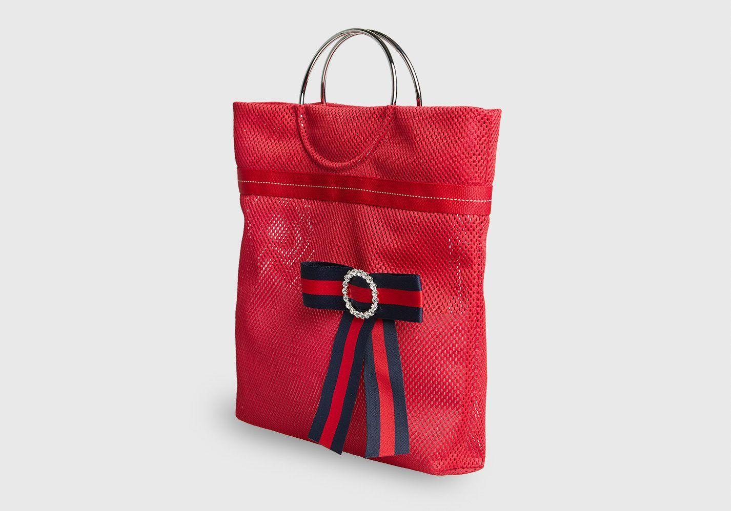 Bolso Gauguin rojo