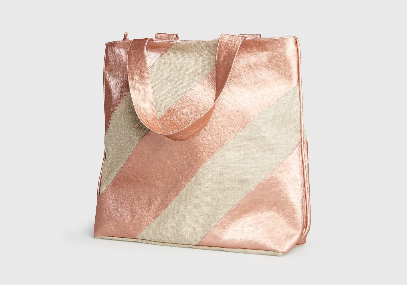 Bolso Sorolla beige-rosa