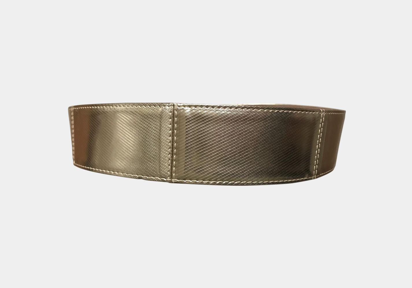 Cinturon Courbet oro frontal