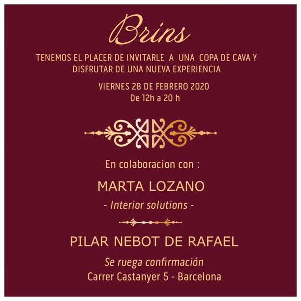Pilar Nebot de Rafael en Brins